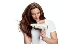 Hair Dryer Philips ThermoProtect Ionic function, 2200 W, Biały
