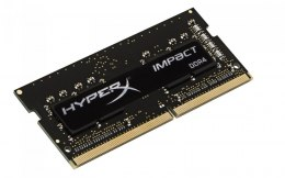 Kingston Impact Black 4 GB, DDR4, 260-pin SODIMM, 2400 MHz, Memory voltage 1.2 V, ECC No, Registered No