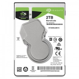 "Seagate Barracuda ST2000LM015 2TB 5400 RPM, 2.5 "", HDD, Serial ATA III, 128 MB"