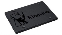 "Kingston A400 120 GB, SSD form factor 2.5"", SSD interface Serial ATA III, Write speed 320 MB/s, Read speed 500 MB/s"