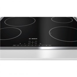 Bosch Hob PKE645FN1E Electric, Number of burners/cooking zones 4, Black, Display,