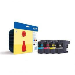 Brother LC-121 Multipack Ink Cartridge, Black, Cyan, Magenta, Yellow