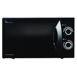 DAEWOO Microwave oven KOR-81F7B 23 L, Mechanical, 800 W, Black, Free standing, Defrost function