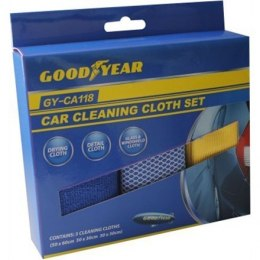 Goodyear Car Cleaning Set, 3pcs