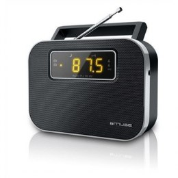 Muse M-081R Black, Alarm function, 2-band PLL portable radio