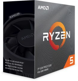 AMD AMD Ryzen 5 3600, 3.6 GHz, AM4, Processor threads 12, Packing Retail, Cooler included, Processor cores 6, Component for PC