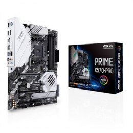 Asus PRIME X570-PRO Processor family AMD, Processor socket AM4, DDR4, Memory slots 4, Number of SATA connectors 6, Chipset AMD X