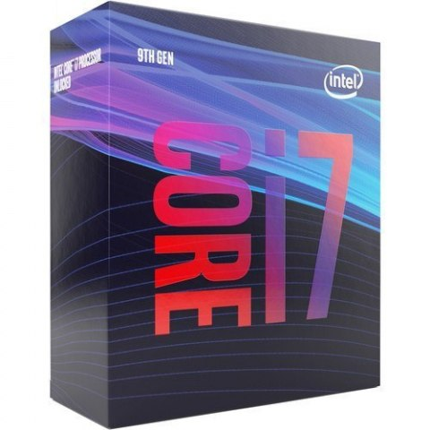 Intel i7-9700, 3.0 GHz, LGA1151, Processor threads 8, Packing Retail, Cooler included, Processor cores 8, Component for PC