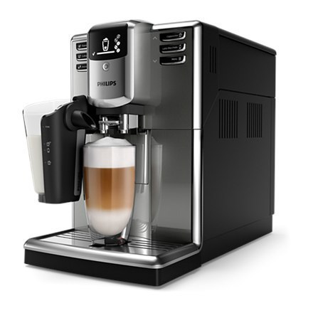 Philips Espresso Coffee maker EP5334/10 Built-in milk frother, Fully automatic, Stainless steel / black