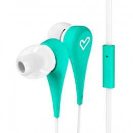 Energy Sistem Earphones Style 1+ In-ear/Ear-hook, 3.5 mm, Microphone, Green