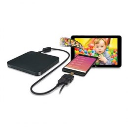 Nagrywarka LG Ultra Slim DVD/CD USB 2.0 H.L Data Storage, DVD±RW, CD read speed 24 x, CD write speed 24 x