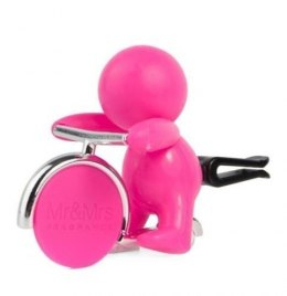 Mr&Mrs GINO Scent for Car, Fuschsia, with magnetic token, Citrus and Musk