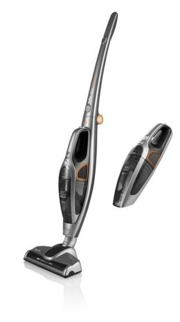 ETA Vacuum cleaner 2 in 1 MILIO Handstick 2in1, Grey, 80 W, 0.4 L, 81 dB, HEPA filtration system, Cordless, 18 V, 25 min