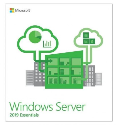 Microsoft Windows Server Essentials 2019 Oem G3S-01299 DVD-ROM, 1 server (1-2 CPU), Licence, EN
