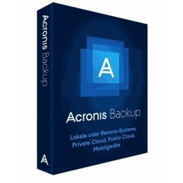 Acronis Backup 12.5 Standard Server License incl. AAS ESD