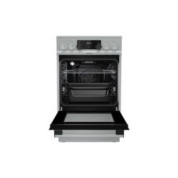 Gorenje Cooker EC5351XA Hob type Vitroceramic, Oven type Electric, Stainless steel, Width 50 cm, Electronic ignition, Depth 60 c