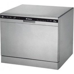 Zmywarka Candy Dishwasher CDCP 8/E-S Table, Width 55 cm, Number of place settings 6, Number of programs 6, A+, AquaStop Silver