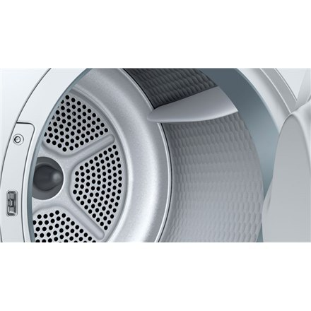 Bosch Dryer Mashine WTH8307LSN Energy efficiency class A+, Front loading, 7 kg, Heat pump, LED, Depth 60 cm, White