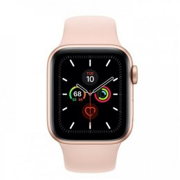 Apple Watch Series 5 GPS, 40mm Gold Aluminium Case with Pink Sand Sport Band
