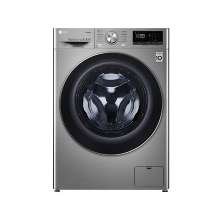 LG Washing machine F2WN6S7S2T Front loading, Washing capacity 7 kg, 1200 RPM, Direct drive, A+++ -20%, Depth 45 cm, Width 60 cm,