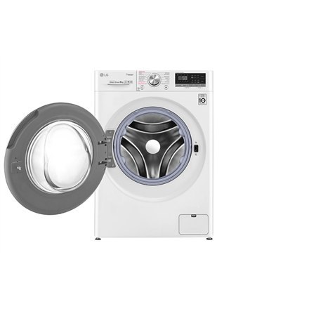 LG Washing machine F4WN608S1 Front loading, Washing capacity 8 kg, 1400 RPM, Direct drive, A+++ -40%, Depth 56 cm, Width 60 cm,