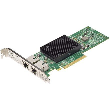 Dell Broadcom 57416 Dual Port 10Gb, Base-T, PCIe Adapter, Low Profile, Customer Install