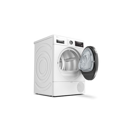 Bosch Dryer mashine WTX8HKL9SN Energy efficiency class A++, Front loading, 9 kg, Heat pump, LED, Depth 60 cm, White, SelfCleanin