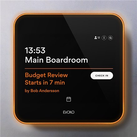 Evoko Liso Room Manager, 8 ""