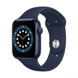 Apple Aluminium Case with Sport Band - Regular LT Series 6 GPS Smart watch, GPS (satellite), LTPO OLED Retina, Touchscreen, Blue
