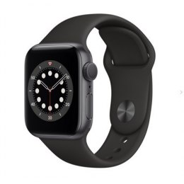 Apple Aluminium Case with Sport Band - Regular LT Series 6 GPS Smart watch, GPS (satellite), LTPO OLED Retina, Touchscreen, Hear