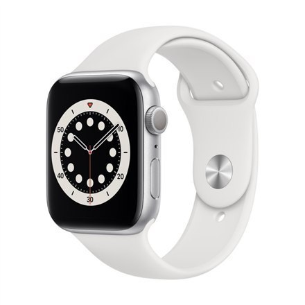 Apple Aluminium Case with Sport Band - Regular LT Series 6 Smart watch, GPS (satellite), LTPO OLED Retina, Touchscreen, Heart ra