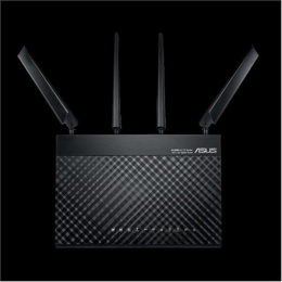 Asus LTE Router 4G-AC68U 10/100/1000 Mbit/s, Ethernet LAN (RJ-45) ports 4, 2.4GHz/5GHz, Wi-Fi standards 802.11a/b/g/n/ac, 600+13