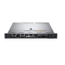 Dell PowerEdge R440 Rack (1U), Intel Xeon, 1x Gold 5222, 3.8 GHz, 16.5 MB, 8T, 4C, RDIMM, 3200 MHz, No RAM, No HDD, Up to 4 x 3.