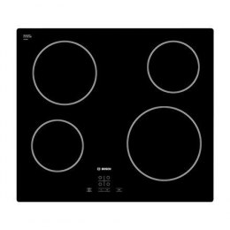 Czarna płyta ceramiczna Bosch PKE611D17E Vitroceramic, Number of burners/cooking zones 4, Black,
