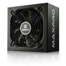 Enermax MaxPro series 500W, (80PLUS), Single +12V Rails/ Silent 120mm FAN/ High efficiency >86%/ Active PFC PSU, retail packing