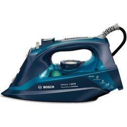 Iron Bosch TDA703021A Blue, 3200 W, With cord, Continuous steam 50 g/min, Steam boost performance 200 g/min, Anti-drip function,