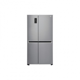 LG Refrigerator GSB760PZXV Free standing, Side by Side, Height 179 cm, A+, No Frost system, Fridge net capacity 406 L, Freezer n