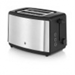 WMF BUENO Toaster WMF WMF BUENO Silver/ black, Cromargan ® stainless steel 18/10, 800 W, Number of slots 2, Number of power lev