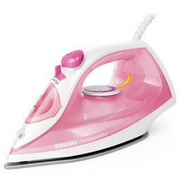 Philips Iron EasySpeed Plus Rose/ white, 2000 W, Steam iron, Continuous steam 25 g/min, Steam boost performance 100 g/min, Anti