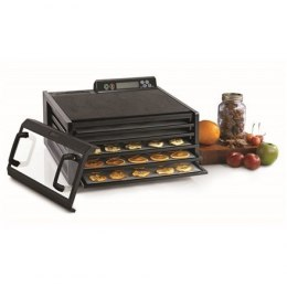 Suszarka do Żywności Food Dehydrator Excalibur 4548CDFB Black, 400 W, Number of trays 5, Temperature control, Integrated timer