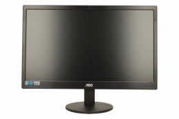 "AOC E970SWN 18.5 "", 1366 x 768 pixels, 16:9, LED, 5 ms, 200 cd/m², Black, D-Sub 15 pin"