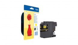 Brother LC-121Y Ink Cartridge, Yellow
