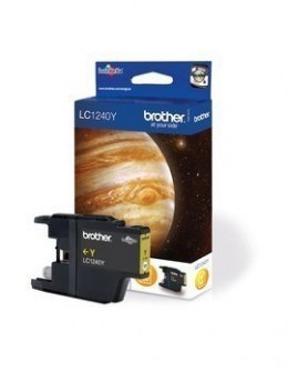 Brother LC-1240Y Ink Cartridge, Yellow