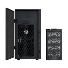 Cooler Master CM Storm Silencio 352 Matte USB 3.0 x2, USB 2.0 x1, Mic x1, Spk x1, SD card reader x1, Black, Mini-Tower, Power su