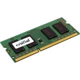 Crucial 8 GB, DDR3, 204-pin SO-DIMM, 1600 MHz, Memory voltage 1.35 V, ECC No